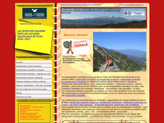 Accompagnateur montagne dans les Pyrénées