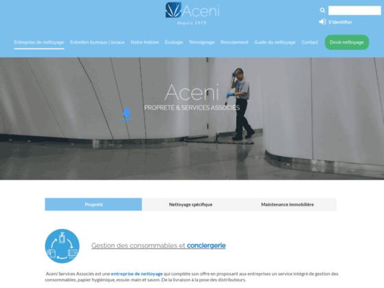 Détails : Aceni - Nettoyage Industriel