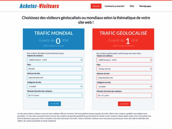 Détails : attirer trafic