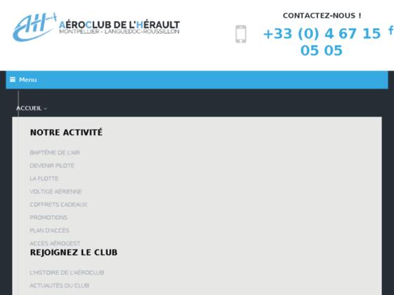 Photo image Aéro-Club de l'Hérault Languedoc Roussillon - 04 67 15 05 05