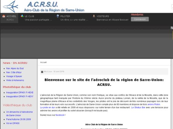 Photo image Aero-Club de la Region de Sarre-Union