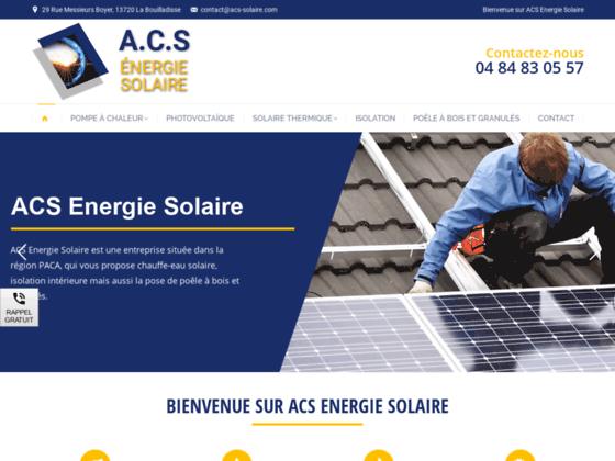 Photo image ACS Installation panneau solaire Bouches-du-Rhône