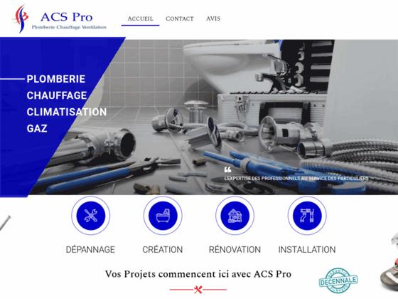 image du site https://acspro-plomberie.fr/