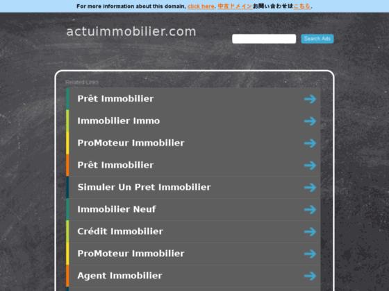Détails : actuimmobilier.com