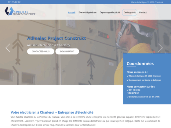 image du site http://www.adinelec-project-construct.be