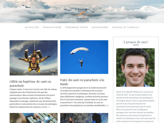 Photo image Parachutisme Bordeaux arcachon ,saut en parachute gironde