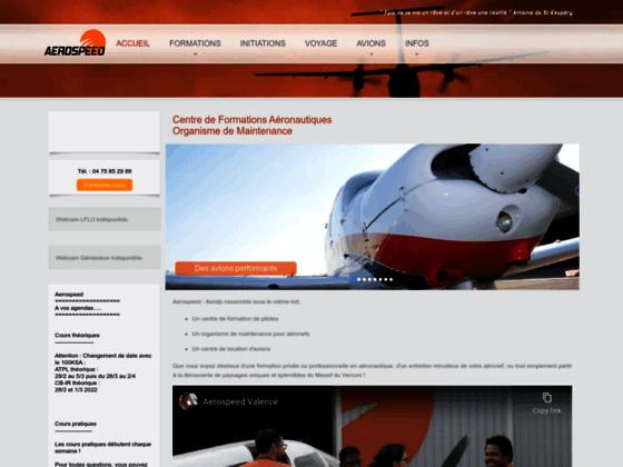 Photo image AERALP // Ecole de pilotage, formations, stages, travail aérien, locations d'appareils