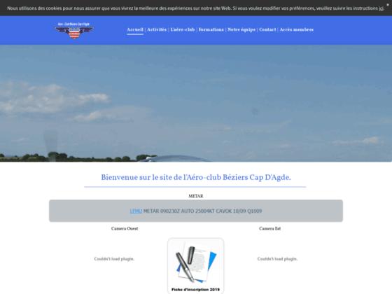 Photo image Site de l'Aéroclub de Béziers - Cap d'Agde