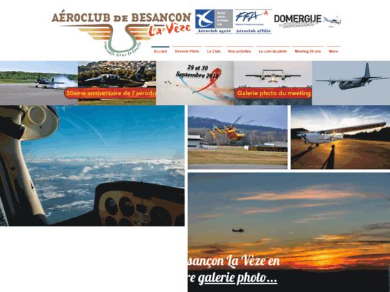 Photo image aeroclub besancon La Veze - aeroclub besançon La Veze Baptêmes de l'air, école de pilot