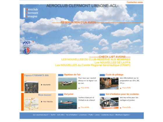 Photo image AERO-CLUB CLERMONT LIMAGNE