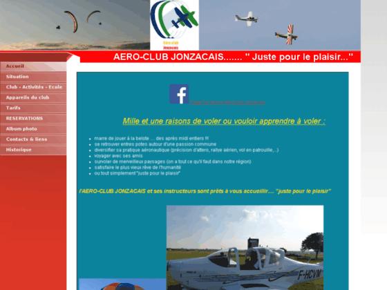 Photo image Accueil - AEROCLUB JONZACAIS - 17500 JONZAC - LFCJ