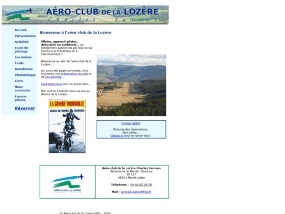 Photo image Bienvenue a l'aéro-club de la Lozere