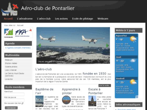 Photo image aéro-club de Pontarlier