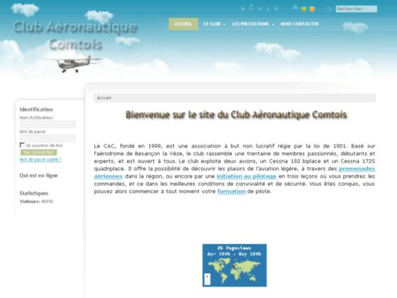 Photo image aeroclub besancon - aeroclub besançon - ecole de pilotage aerodrome de besancon - Aéroclub comtois