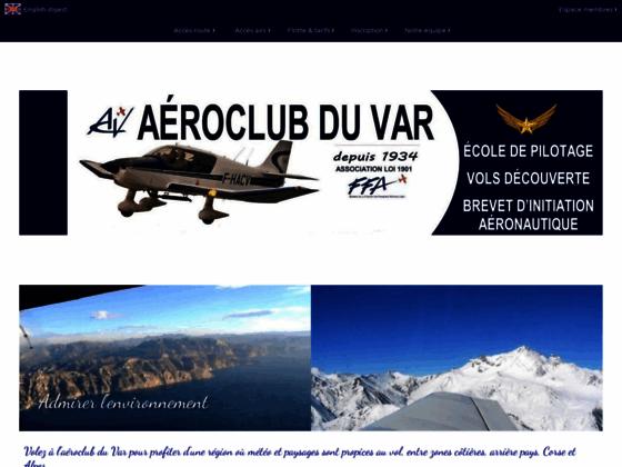 Photo image Aéroclub du Var, école de pilotage, vol moteur à Cuers, brevet pilote privé (PPL)