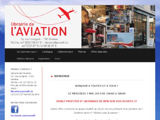 Photo image Aerodif - Secavia - La Librairie de l'Aviation