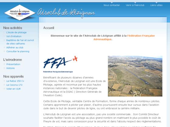 Photo image Aéroclub de Lézignan