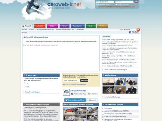 Photo image Forum aeronautique  - AeroWeb-fr.net