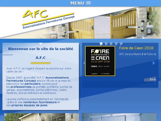 image du site https://www.afc14.com