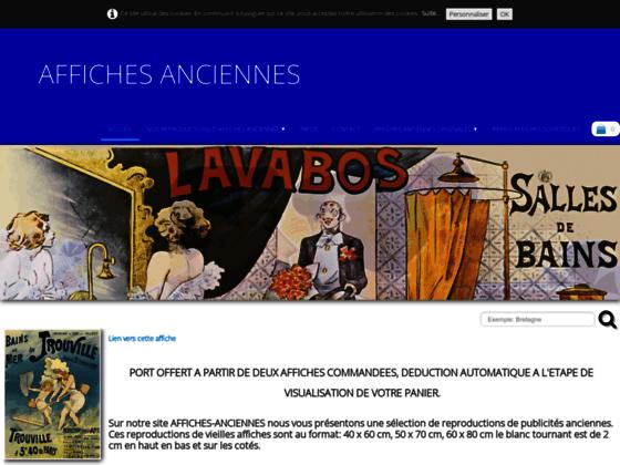 Reproductions d'affiches anciennes et publicitaires