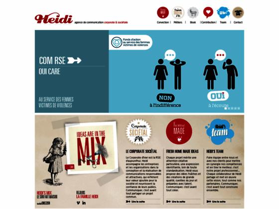 Détails : Agence Heidi, communication à Levallois Perret (92)