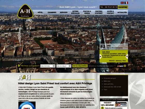 Hôtel tout confort à Lyon, A&H Privilège
