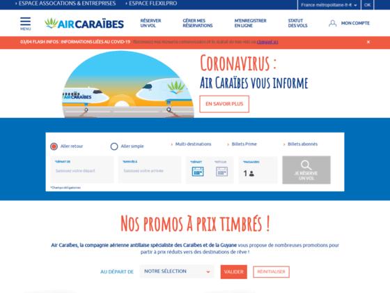 Photo image Voyage aux Antilles: partez en voyage aux Antilles avec Air Caraibes et réservez vos billets en