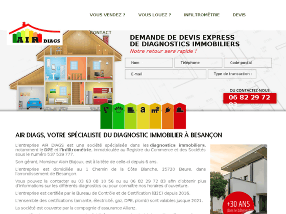 Détails : Diagnostic immobilier Doubs