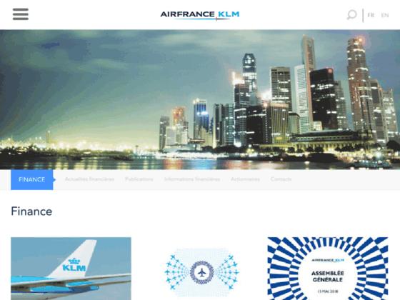 Photo image Les activités du groupe Air France KLM : maintenance