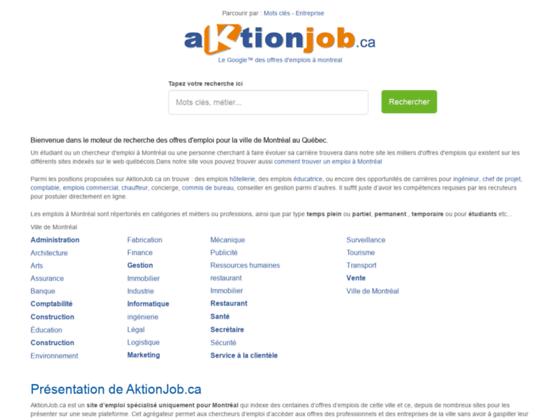 Détails : Offre d'emploi à montréal