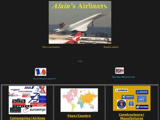 Photo image Alain's Airliners