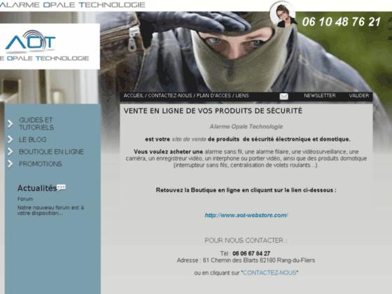 Détails : Vente, installation d\'alarme, Nord Pas de Calais