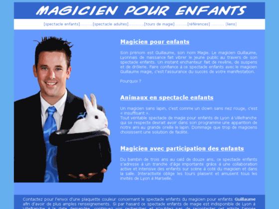 Détails : Magicien pour enfants