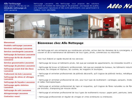 Détails : Entretien et nettoyages professionnels en Suisse