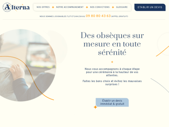 image du site https://www.alterna-obseques.com