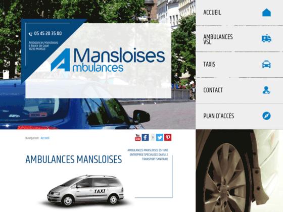 Détails : Ambulances Mansloises, transport sanitaire