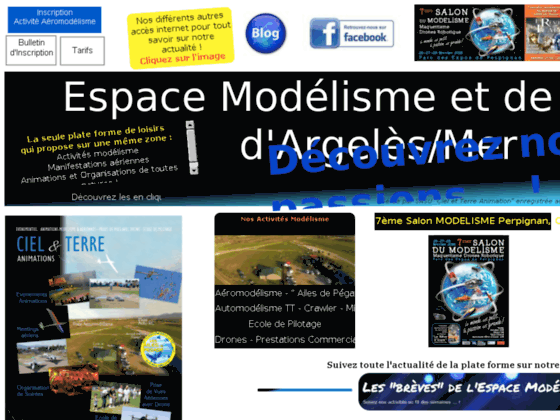Photo image club aeromodelisme argeles sur mer