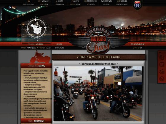 Détails : Voyage en moto sur la Route 66