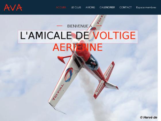 Photo image Amicale de Voltige Aérienne -  Accueil