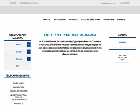Photo image Port de Annaba