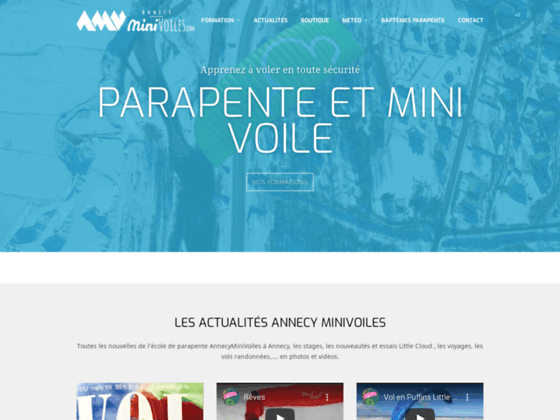 Photo image AnnecyMinivoiles-parapente-minivoiles