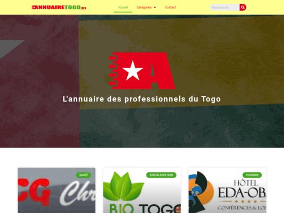 image du site https://annuairetogo.pro/