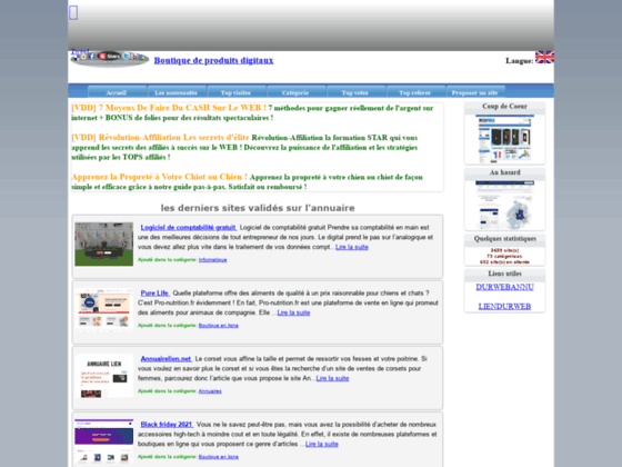 Détails : Annuaire web gratuit