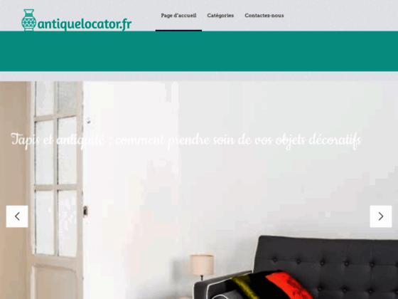 Détails : Antique Locator, antiquités en ligne par géo localisation