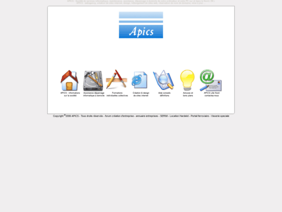 Photo image APICS : depannage informatique - creation de sites