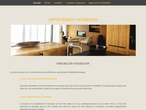 Détails : appartement hossegor