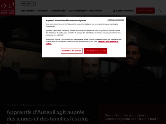 Détails : Apprentis d'Auteuil – décrochage scolaire