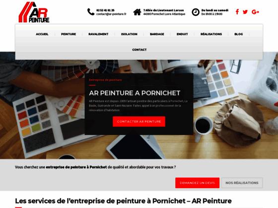 Détails : Entreprise de peinture A.R Peinture (44)