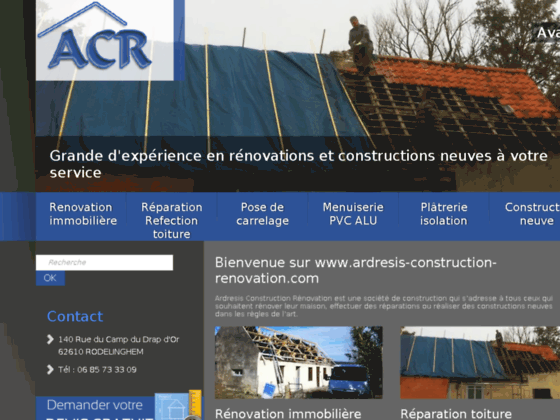 Détails : Entreprise de construction Pas de Calais