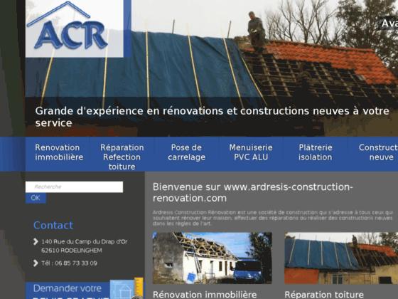 Entreprise de construction Pas de Calais